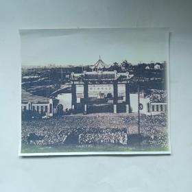 老照片:民国时期的沙市中山公园