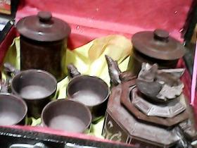 木鱼石茶具【一套】