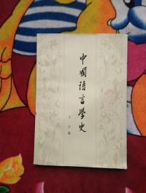 中国语言学史(实物拍照