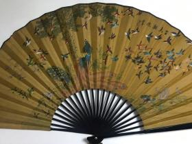 百鸟朝凤(大扇子)Hundred birds toward the phoenix (big fan)