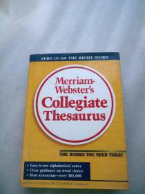 Merriam Websters Collegiate Thesaurus