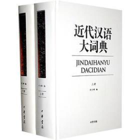 近代汉语大词典(全二册)