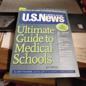 u.s.news ultimate guide medical schools【4th edition】【16开原版书,如图实物图】