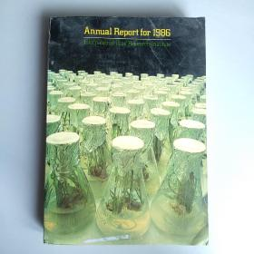 Annual Report For 1986 International Rice Research Institute