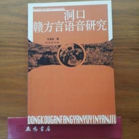 洞口赣方言语音研究(贵州民族学院学术文库)