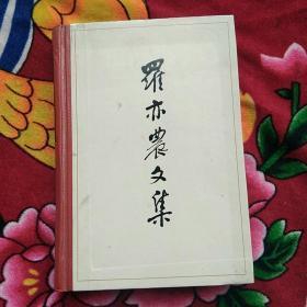 罗亦农文集(实物拍照