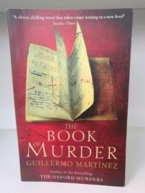 杀手之书 Book of Murder by Martinez Guillermo (犯罪小说)英文原版书