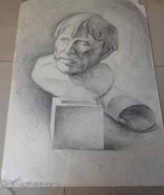 人物速写素描原稿31