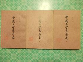 中国文学发展史(上中下三册全)
