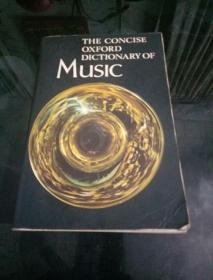 THE  CONClSE  OXFORD  DlCTlONARY  OF  MUSlC