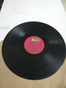 五十年代苏联黑胶唱片女声独唱(伏尔加春天)原版