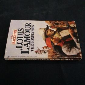 英文书 THE LONELY MEN .LOUIS LAMOUR