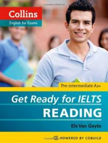 正版gy-9780007460649-英文原版 Collins Get Ready for Ielts Reading (Collins English for Exams)