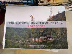 嵩县白河镇大青村传统村落保护发展规划(2018-2035)