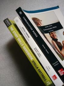 【英文版】《Communication Works》《 Critical Thinking (Fifth  Edition)》《The Study Skills Handbook》【3本合售】