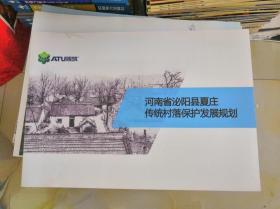 河南省泌阳县夏庄传统村落保护发展规划