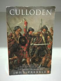 可洛登战役史 Culloden by John Prebble (英国史)英文原版书