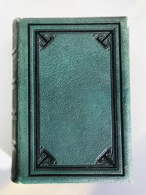 英文原版 The Poetical Works of Thomas Hood (Moxons Popular Poets First Series) 诗集 皮面精装 Gustave Dore 多雷 版画插图 1870年左右出版