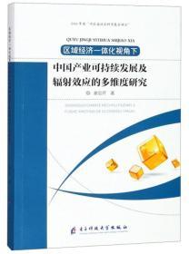 中国产业可持续发展及辐射效应的多维度研究