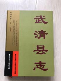 武清县志(1991-2000)【请注意看详细描述】