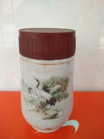 80年代河南信阳地区生化制药厂含糖钙片药瓶