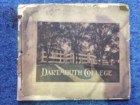 【铁牍精舍】【影像精品】民国早期美国刊《达特茅斯学院》画册,24x20cm。达特茅斯学院(Dartmouth College)成立于1769年,是美国历史最悠久的世界顶尖学府,也是闻名遐迩的私立八大常春藤联盟之一。坐落于新罕布什尔州的汉诺佛(Hanover)小镇。依照利扎维洛克牧师当初成立这个学校的目的,是为了培养当地印第安部落的年轻人和年轻白人。其本科生入学竞争非常激烈,本科生入学率仅为10.3