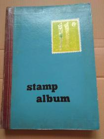 Stamp album 空白集邮册