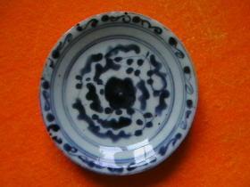 青花瓷小盘一个