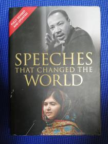 Speeches That Changed the World (英语) 精装
