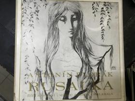 黑胶原版唱片4张装ANTONIN DVORAK RUSALKA