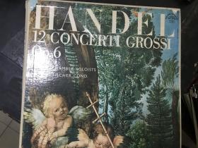 黑胶原版唱片4张装HANDEL 12 CONCERTI GROSSI OP.6
