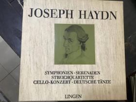 黑胶原版唱片5张装JOSEPH HAYDN