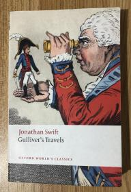 Gullivers Travels (Oxford Worlds Classics)  格列佛游记 格利佛游记 9780199536849 0199536848