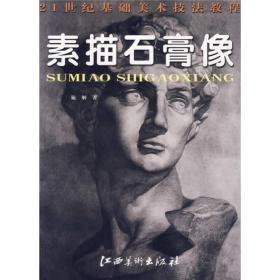 21世纪基础美术技法教程:素描石膏像