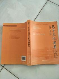 2014-2015年北京文化发展报告
