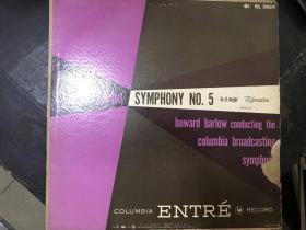 黑胶原版唱片MENDELSSOHN SYMPHONY NO.5