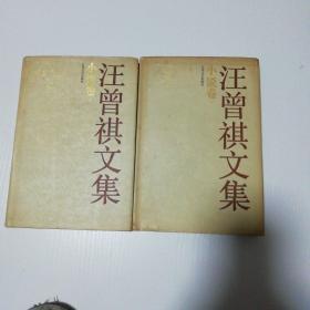 汪曾祺文集  小说卷(上下) A453