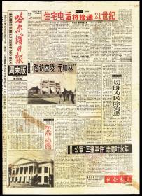19报纸-1994年8月27日第136期《哈尔滨日报-周末版》