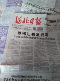 河北日报2019年3月3日,石家庄栾城大棚蔬菜种植