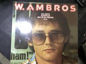 黑胶原版唱片W.AMBROS DA HOFA KAGRAN WO IS DA PEPPE U.A.