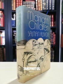 Midnight's Children 《午夜的孩子》 萨尔曼 拉什迪 Salman Rushdie 经典作品  1981年 英国出版 布面精装