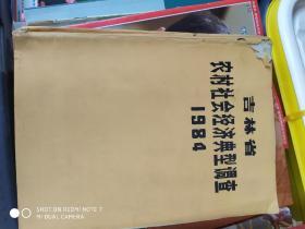 吉林省农村社会经济典型调查1984