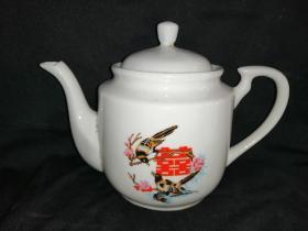 文革老茶壶(喜上梅梢)