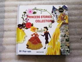 princess stories collection(公主故事集 ) 英文原版3D Pop-ups(公主立体书)