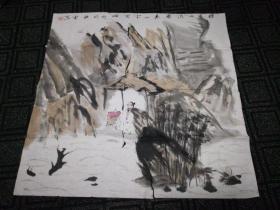 姚雷国画小品(1)69cm*69cm