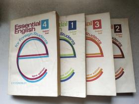 Essential English for Foreign Students 《 book 1.2.3.4 全四册》基础英语 【学生用书】全英文