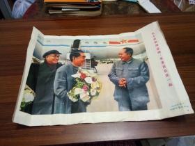 毛主席和周总理.朱委员长在一起【长.44.CM...宽.31.CM】