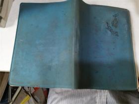 【老版笔记本】蓝色软精装,有笔记