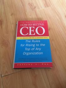 How to Become CEO ///The Rules for Rising to the Top of Any Organization 如何成为CEO//上升到组织顶端的规则