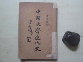 1929年光明书局28开:中国文学进化史